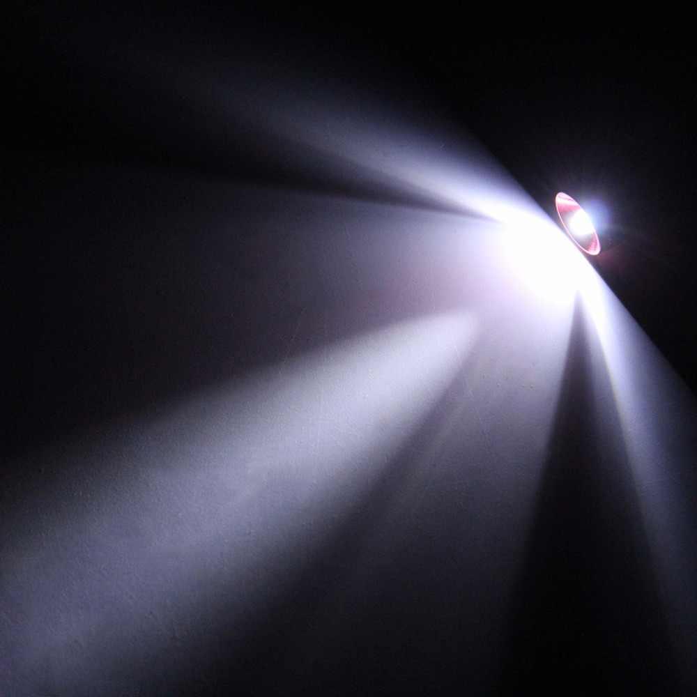 カラフルな超高輝度ミニポータブル led キャンプ懐中電灯アルミキーホルダーキーリング led ライト自己防衛トーチランプ屋外