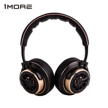 1MORE Triple Driver Over Ear Headphones Hi Res Audio Bass Headband Earphones 3.5mm Travel Bass Headset with Mic H1707