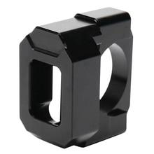 Черный держатель индикатора скорости мотоцикла кронштейн из алюминиевого сплава