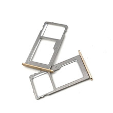 10 pcs/lot New For Lenovo Vibe P2 P2c72 P2A42 SIM Card Reader Tray Holder Slot Sim Tray Holder(China)