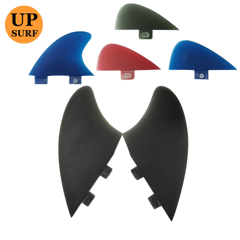 FCS Surf Fins Twin Fins+small Central Fin Surfboard FCSI Fins Keel FCS Keel Fin 2+1 Pcs Per Set Sell In Surfing