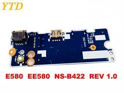 Oryginalny dla Lenovo E580 płyta USB E580 EE580 NS B422 REV 1.0 testowane dobry darmo wysyłka|Wewnętrzne czytniki kart pamięci|Komputer i biuro -