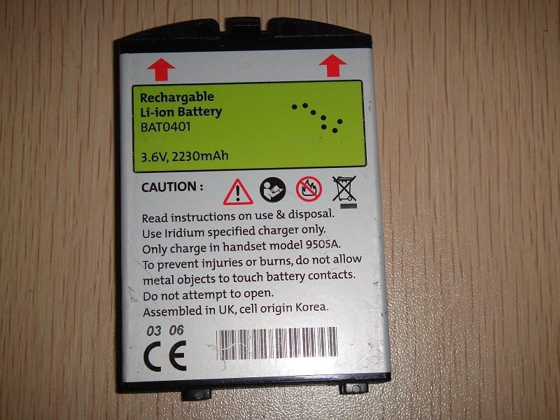 New battery for Iridium 9505 9505A BAT0602 BAT0401 Satellite Phone(China)