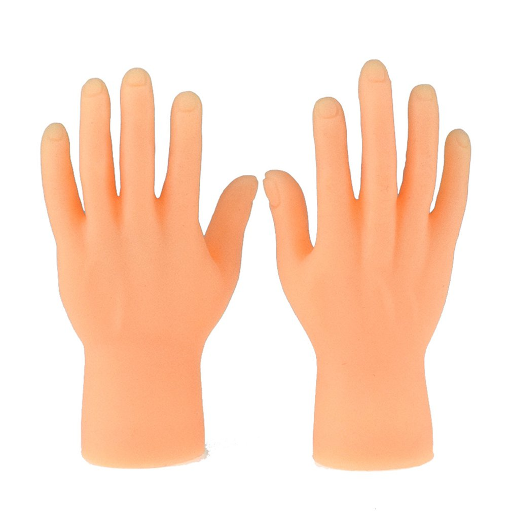 Novelty Funny Five Fingers Open Palms And Fingers Set Of Toys Around The Small Hand Model Halloween Gift