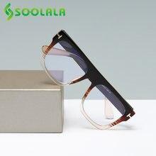 Soolala большие квадратные негабаритные очки для чтения женщин