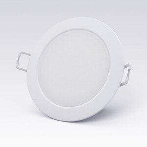 Image 5 - סיטונאי מקורי Youpin חכם Downlight Wifi לעבוד עם Mi בית App שלט לבן וחם אור חכם שינוי אור