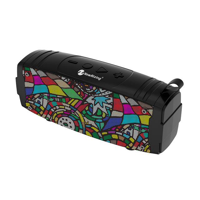 New Portable Bluetooth Speaker Super Bass Wireless Loudspeaker 3D Stereo Music Surround With Mic FM TFCard Aux Outdoor Speaker
