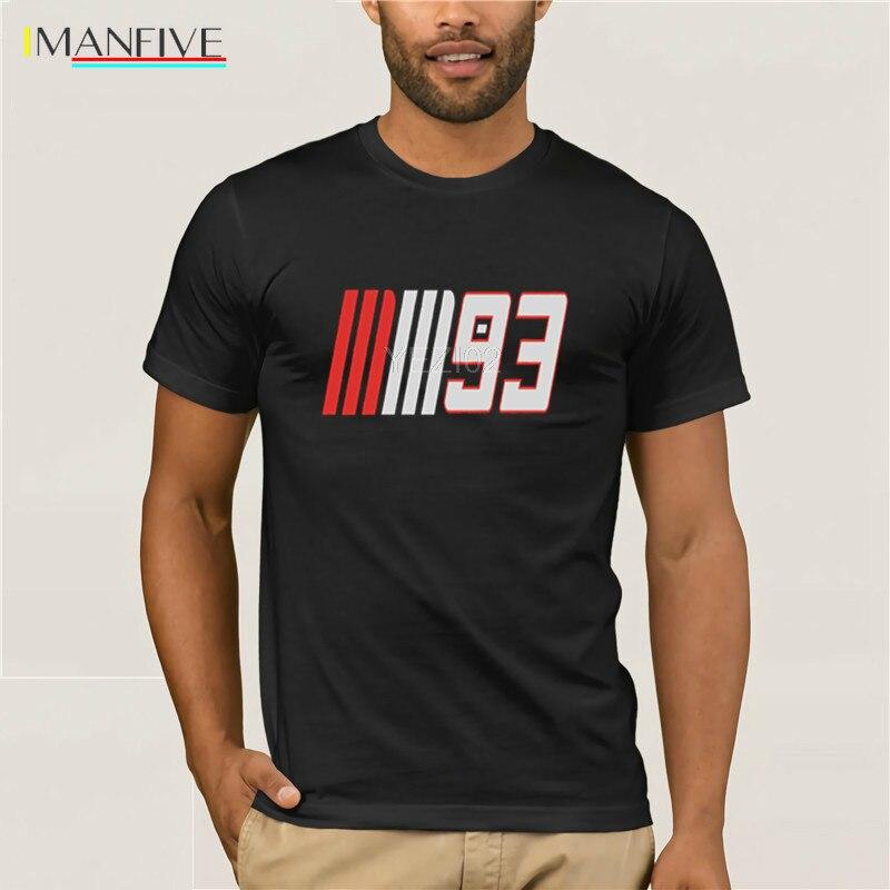 93 Marc Marquez Half Sleeve Black T-Shirt Short  Casual  Cotton  O-Neck  Men T-shirt