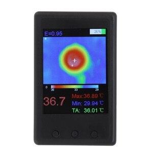 Image 3 - DANIU Protable HY 18 MLX90640 Handheld Thermograph Camera Infrared Temperature Sensor Digital Infrared Thermal Imager
