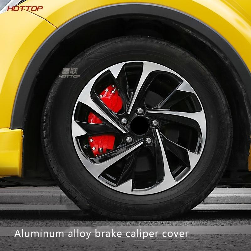 For Toyota CHR C-HR front Wheel Caliper Cover Aluminum Alloy Brake Calipers Sets Hub Decoration Modification