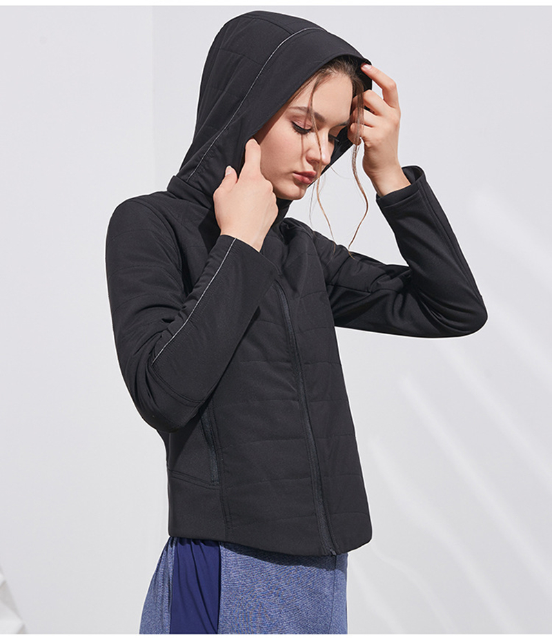Autumn and Winter Sports Running Jacket for Women Womens Clothing Jackets & Hoodies