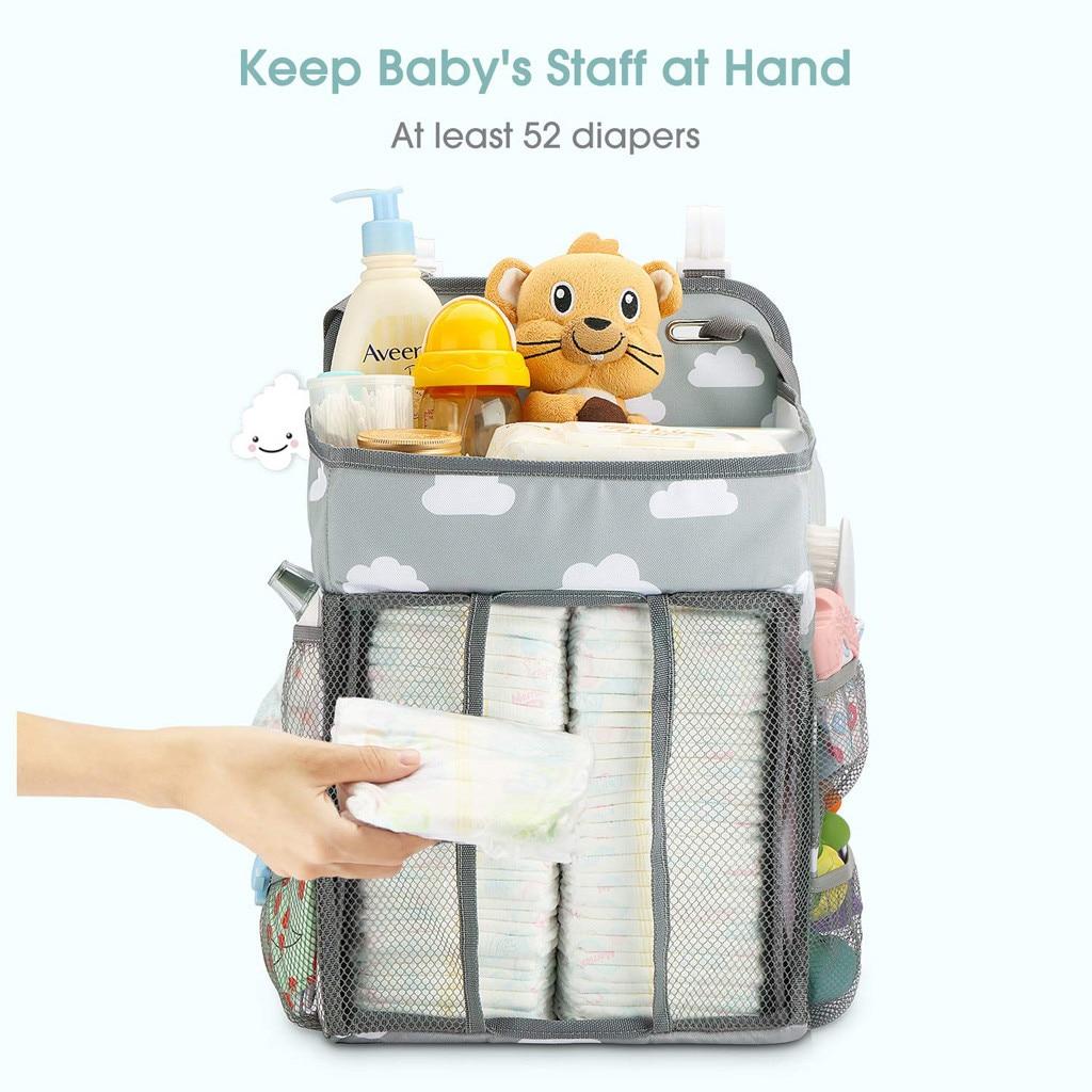 Multi-Pocket Bedside Organizer