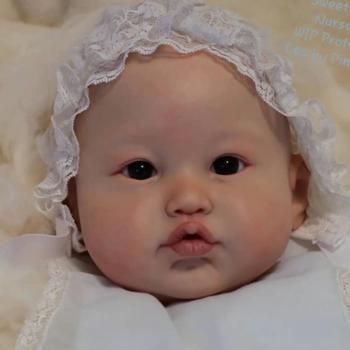 22 cali zestaw części ciała do lalek Reborn realistyczne niemowlę Lea niedokończone lalki części DIY puste lalki DIY zabawki Drop Shipping tanie i dobre opinie 25-36m 4-6y 7-12y 12 + y 18 + CN (pochodzenie) Dıy Toy SOFT Miękkie i pluszowe FASHION DOLL Baby dolls Reborn dolls Winylu