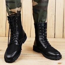 Vintage Men Boots Safety Shoes 36-46 Work Winter Big Size Plush Warm Brown %1199-1