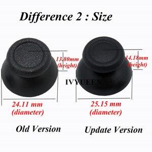 Image 3 - Ivyueen 200 Stuks Analoge Duimknoppen Voor Play Station 4 PS4 Pro Slim Controller Accessoires Voor Dualshock 4 Thumb Stick Caps grips