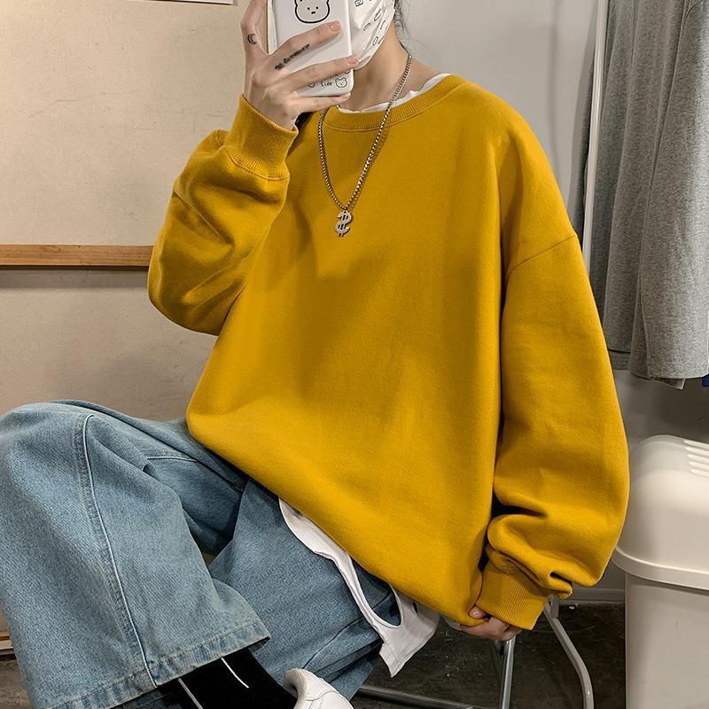 He8f6eba70d494137a07cf91fd73515c4b loose Korean style plus size sweatshirt winter clothes streetwear women 2020 new fashion plus velvet oversize harajuku hoodie