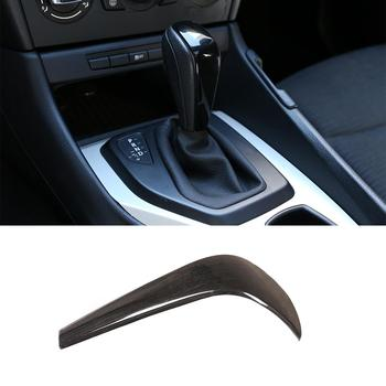 BMW E90 E92 E93 E87 3 Series 2005-2012 Carbon Fiber Color ABS Gear Shift Knob Head Cover Trim Car Accessories image