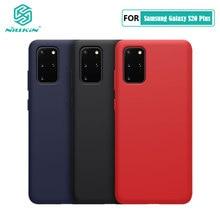 สำหรับ Samsung S20 Ultra Case NILLKIN Liquid ซิลิโคนเรียบสำหรับ Samsung Galaxy S20 + / S20 Ultra 5G ป้องกันกระเป๋า