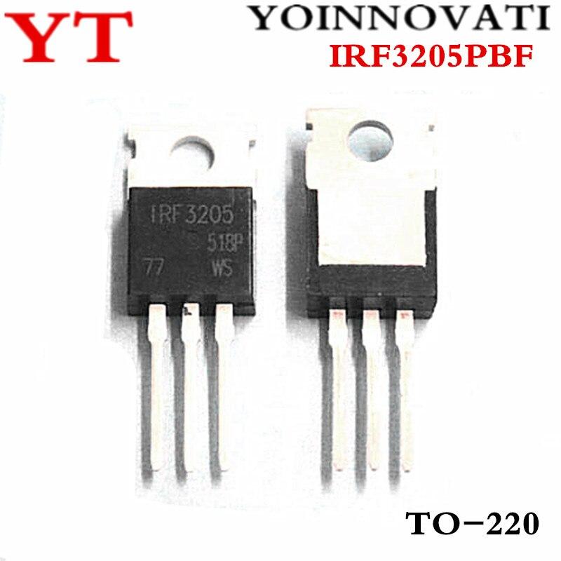 10pcs/lots IRF3205 IRF3205PBF TO 220 IC Best quality. lot lot lot 10pcs - AliExpress