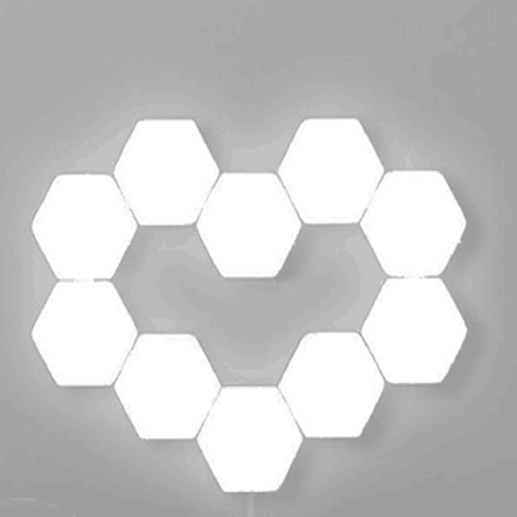 Creative Background Wall Decoration Lamp Living Room Bedroom Atmosphere Lamp 3 Lamps Quantum Lamp Honeycomb Lamp