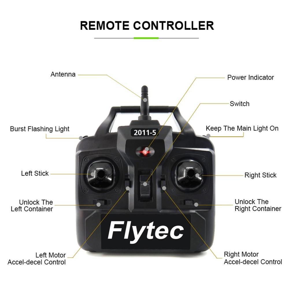 2019 NIEUWE Flytec 2011 5 Vissen Tool Smart RC Aas Boot Speelgoed Dual Motor Fishfinder Vis Boot Afstandsbediening control Vissersboot - 5
