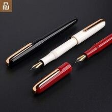 Перьевая ручка youpin KACO MASTER, двухцветное покрытие EF перо, немецкая чернильная система, плавное письмо, офисные принадлежности, деловой подарок