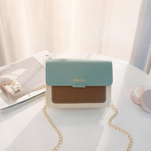 Fashion Messenger Bag Contrast Color Mini Premium PU Lady Designer Handbag Quality Superior  Luxury 2019