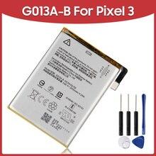 Oryginalny wymienna bateria G013A B G013C B dla Google Pixel 3 Pixel3 pikseli 3XL baterie do telefonu