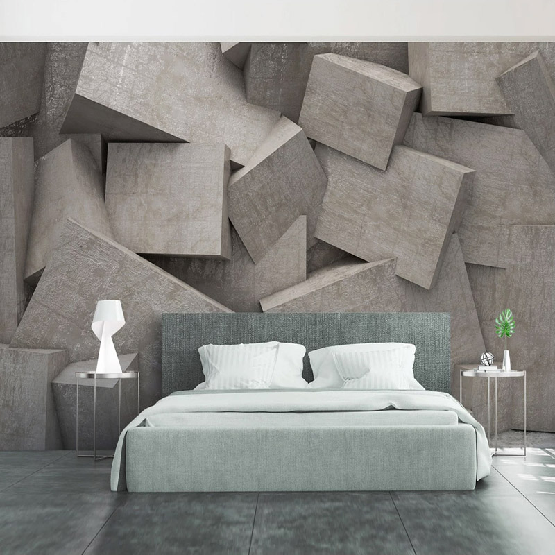 Custom Any Size 3D Stereoscopic Abstract Space Geometric Photo Background Wall Murals Modern Living Room Bedroom Decor Wallpaper