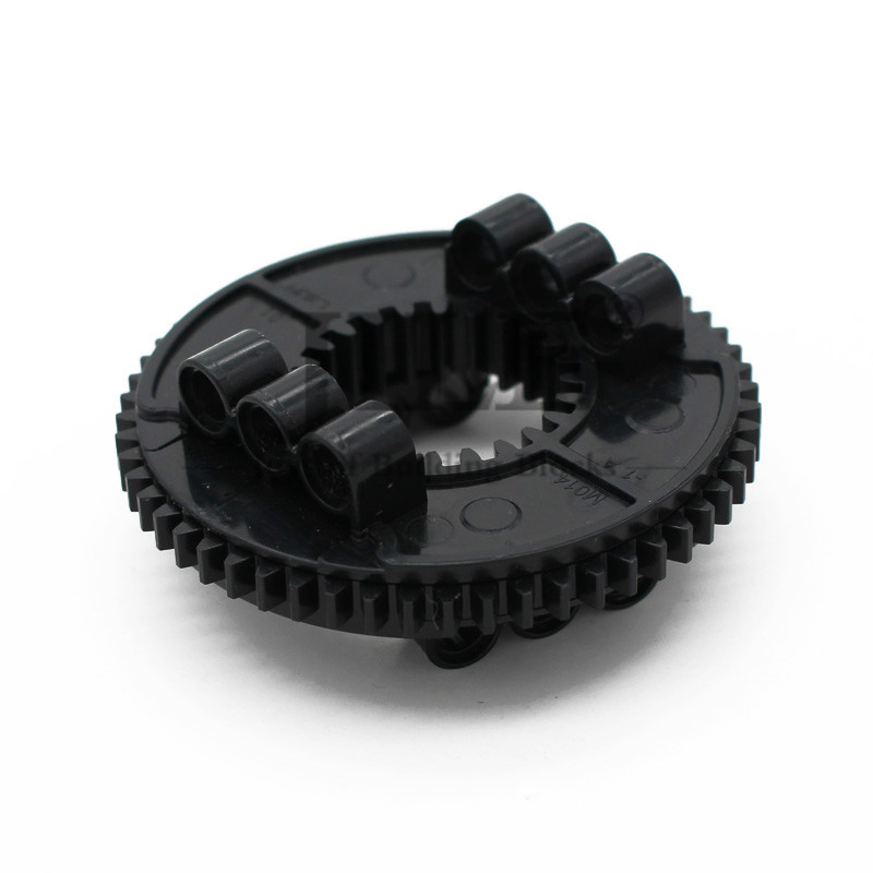 Technology Turntable Large Type 2 with Outside Gear Section 50163 48452 Building Blocks Brick Compatible Accessories Mechanical