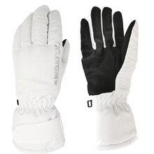 Winter Gloves Skiing Women's Ski Mittens Fleece Warm Female