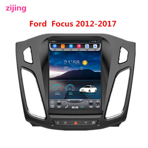 2Din Ford Focus 2012-2017 car multimedia stereo video player Radio Android 9.0 smart DVD host GPS large-screen navigation