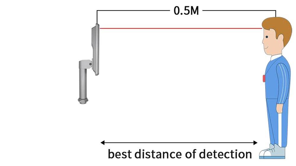 detect distance