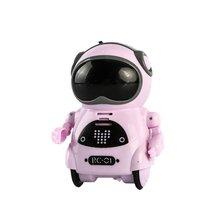RC Robot Pocket Gift Talking Telling-Story-Machine Dancing Interactive Mini Record Singing