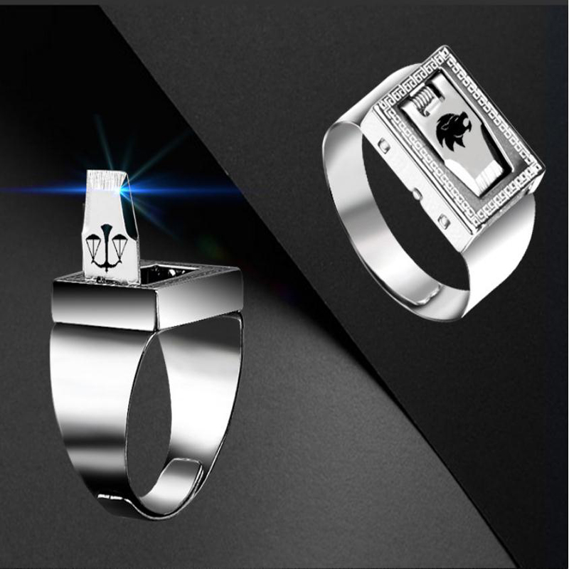 Personality Protective Ring Invisible Protection, Outdoor Cut Ropes, Men And Women Self-help Ring