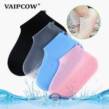 Silicone Overshoes Reusable Waterproof Rainproof Men Shoes Covers Rain Boots Non-slip Washable Unisex Wear-Resistant Recyclable 1pairs pvc waterproof rain high heels shoes cover women rain boots rainproof slip resistant overshoes shoes covers