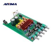 AIYIMA TPA3116 2.1 dźwięk cyfrowy płyta wzmacniacza 50W * 2 + 100W TPA3116D2 wzmacniacz subwoofera DIY nagłośnienie głośnik kina domowego