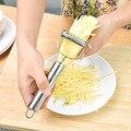 Многофункциональная Овощечистка из нержавеющей стали популярное устройство для нарезки нож для нарезания соломкой Парер картофеля овощей...