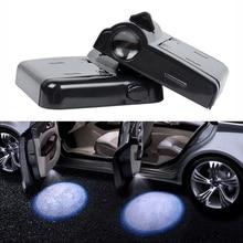LED Car Door Courtesy Step Welcome Logo Projector Light For vw polo sedan golf 3 4 5 6 7 passat b5 b6 b7 b8 cc jetta mk5 mk6 t5