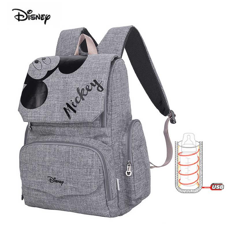 Disney 2019 nouveau bébé sac à dos pour maman multifonction grande capacité mère sac couche maternelle sac à dos pour couches livraison directe