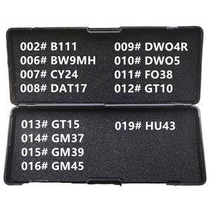Image 3 - 20 30 لى شى 2 في 1 HU49 HU46 HU56 HU58 HU64 HU66 HU83 HU87 HU92 HU100 HU100 10 قطع HU101 الأقفال أدوات لجميع أنواع