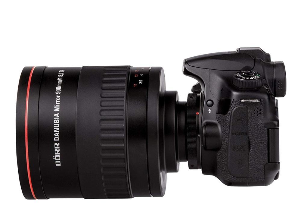 Зеркальный ручной телеобъектив jintu 900 мм f/80 для камеры