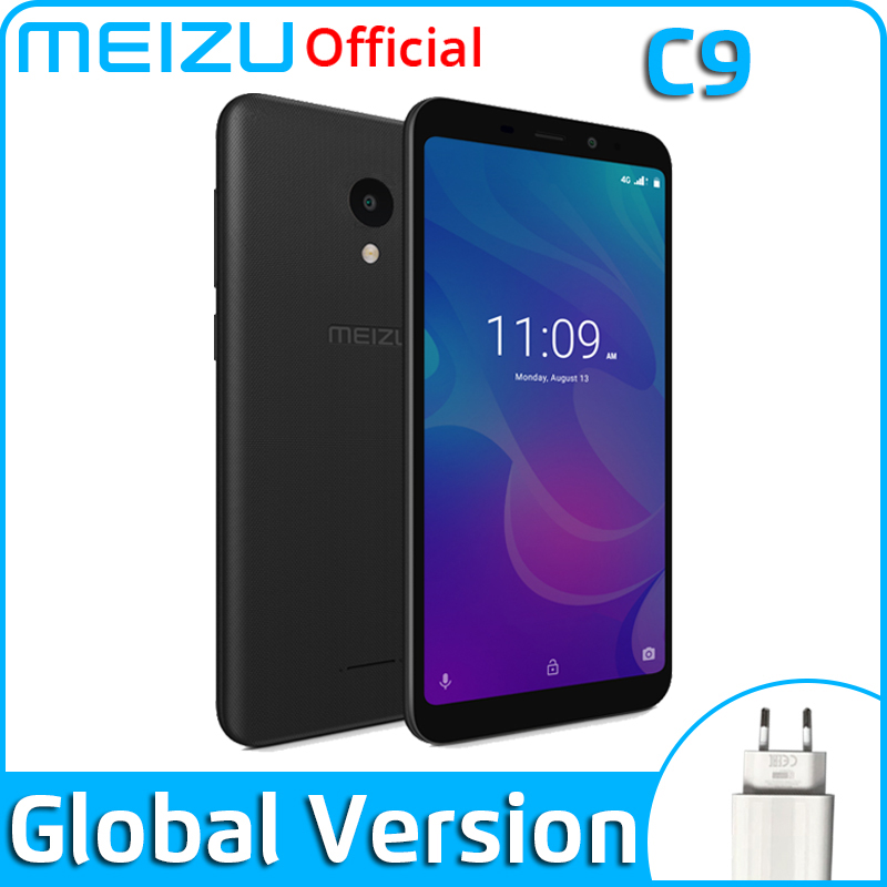 Meizu C9 2GB 16GB Global Version Mobile Phone Quad Core 5.45 inch 1440X720P Front 8MP Rear 13MP Camera 3000mAh Battery(China)