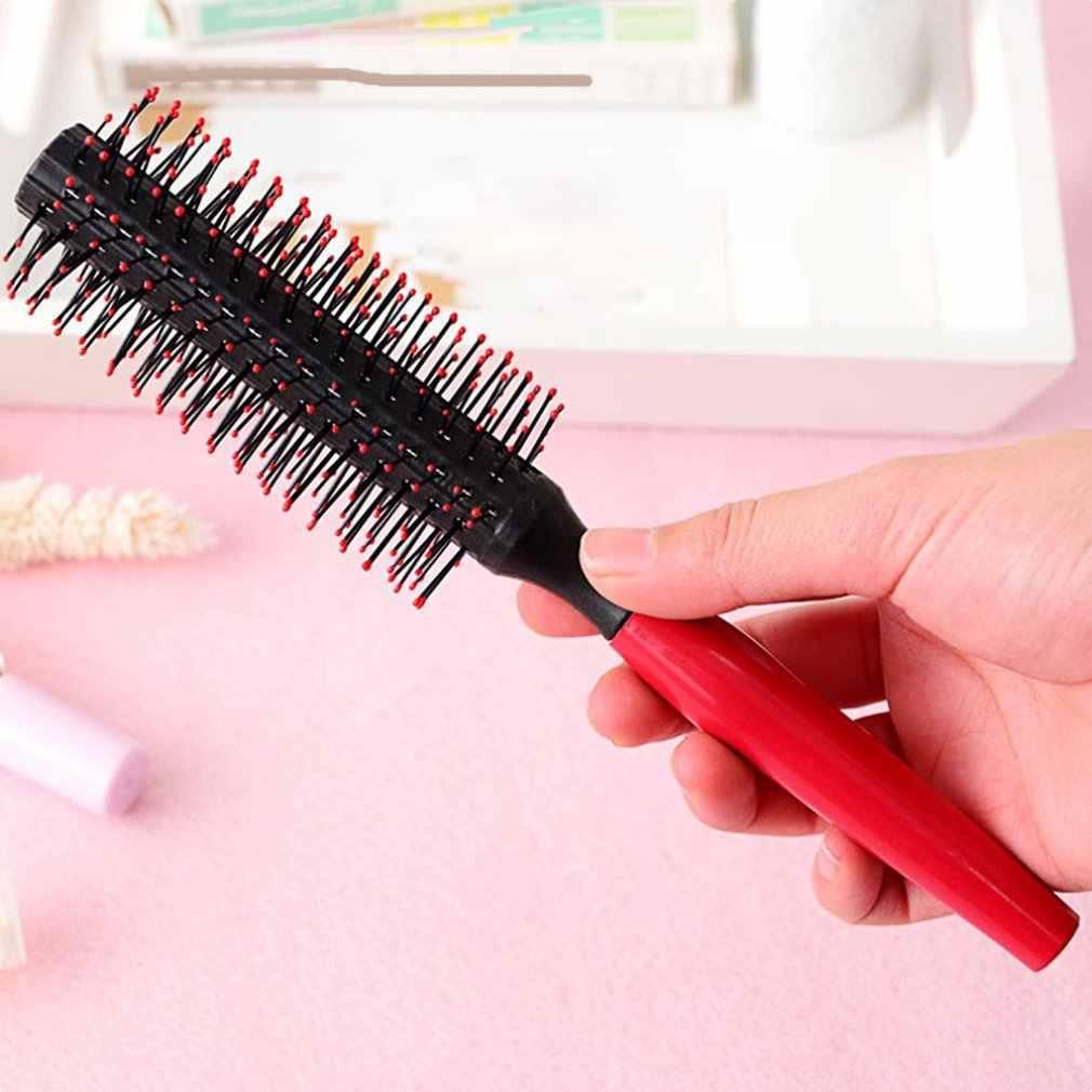 פלסטיק עגול מסרק פרח ראש שיער בסגנון מסרק ישר שיער מתולתל שיער מסרק מסרק גדול מסרק