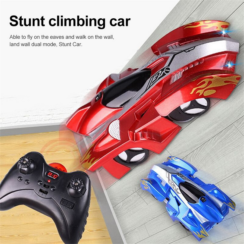 Children RC Wall Climbing Mini Car Toy Kids Model Bricks Boys Girls Wireless Electric Car Radio Remote Control Race Toys