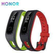 سوار معصم ذكي من HONOR Band 4 سوار للياقة البدنية (إصدار الركض) جهاز تتبع معدل ضربات القلب مزود برسالة مضاد للماء في الوقت الحقيقي