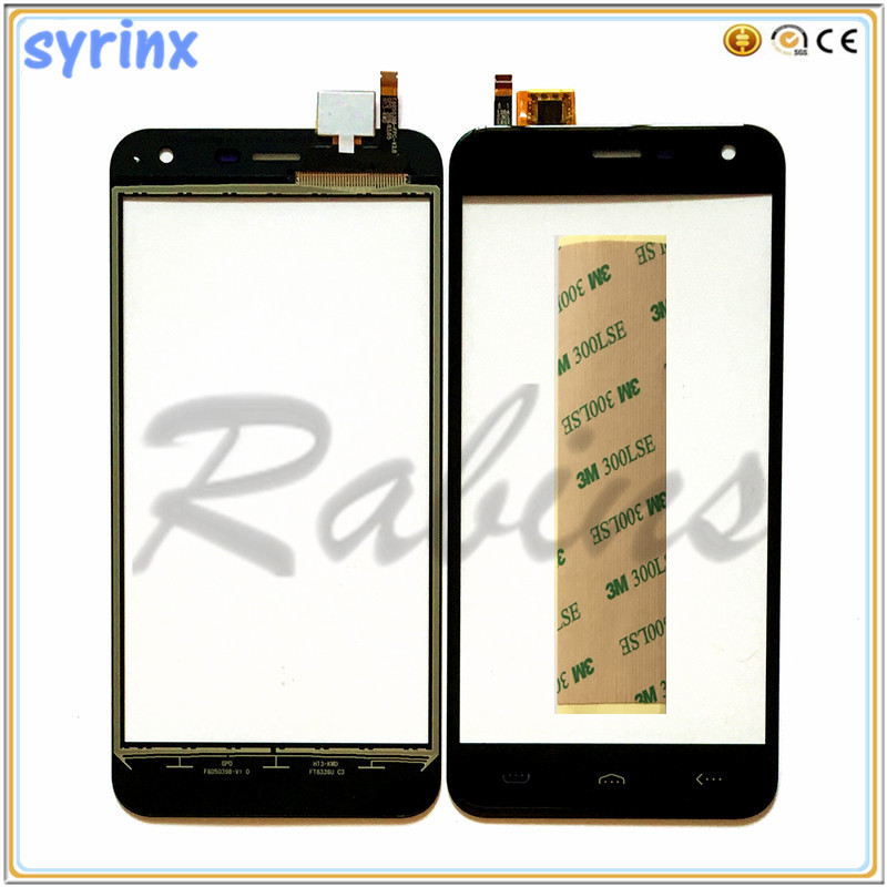 5.0 inch For Homtom HT3 Touch Screen Digitizer Sensor For Homtom HT3 Pro Front Glass Touch Panel Sensor Touchscreen 3m Stickers(China)