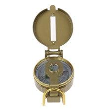 Кемпинговый компас призматическое прицеливание военный аутентичный