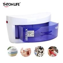 Armoire de désinfection à UV, prise ue 220V, stérilisation à la lumière ultraviolette, outils de manucure, boîte de stérilisation à UV domestique