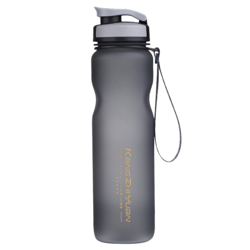 KANGZHIYUAN 1000ML Sport Water Bottle <font><b>Drinking</b></font> Water For Bottles My Water Tea Infuser Cup Scrub Portable Space Bike Cycling Shak image
